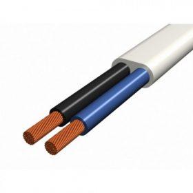 PVC köpenyes, lapos, sodrott kábel (MTL)
