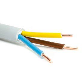 PVC köpenyes tömör réz kábel (MBCU)