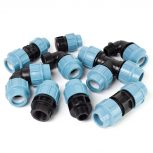 Műanyag KPE idomok