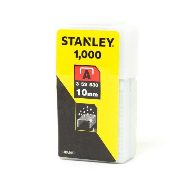 Tűzőkapocs 6mm A-TRA204T STANLEY (1000db)