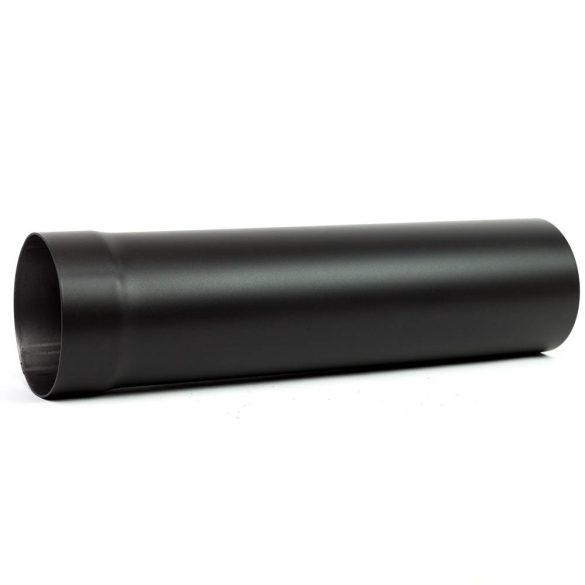 150 kandallócső fekete vastagfalú (50cm)