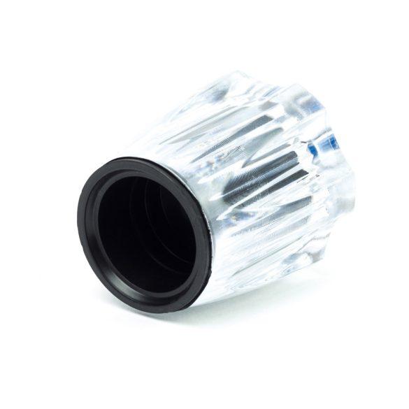 """Csapfogantyú kristály 3/8"""" ricnis kék"""