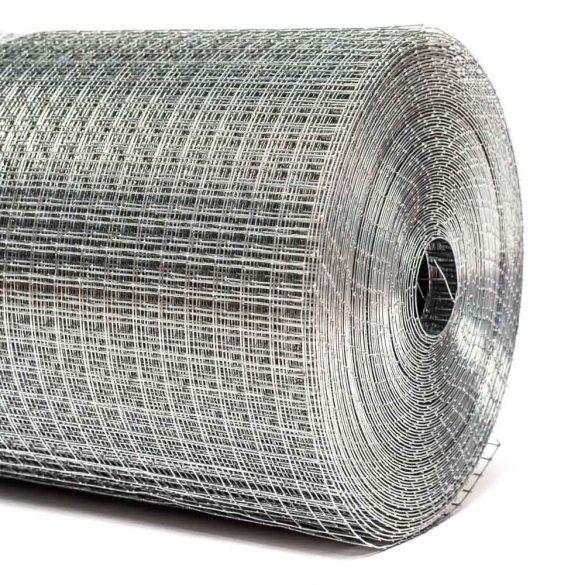 13*13*0,8mm ponthegesztett háló (madárháló)