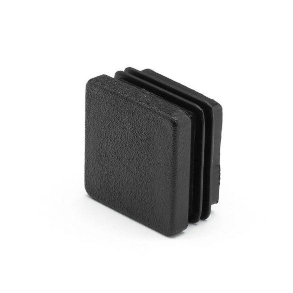 30*30mm záródugó zártszelvényhez műanyag fekete