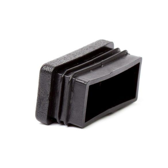 80*40mm záródugó zártszelvényhez műanyag fekete