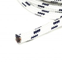 Fonatolt kötél, 5pp, fehér