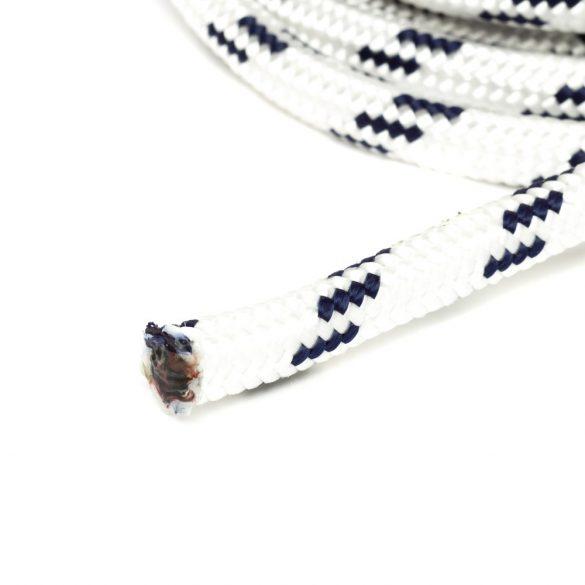 Fonatolt kötél, 12pp, fehér