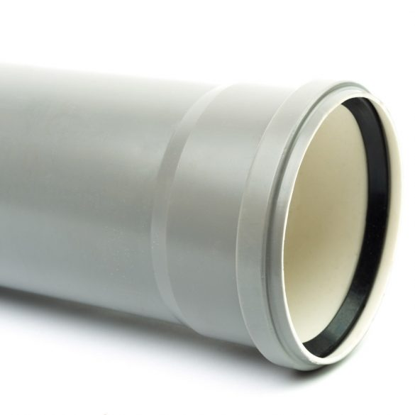 110 PVC cső tokos (200cm)