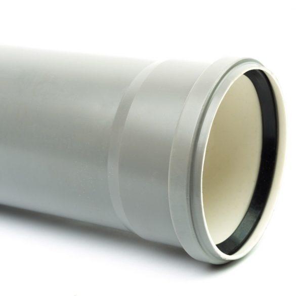 110 PVC cső tokos (50 cm)