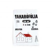 5m*4m takaró fólia extra erős létrázható 70µ