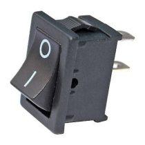 Billenőkapcsoló 1ák, 20*13mm fekete