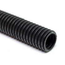 25mm műanyag gégecső, lépésálló,fekete