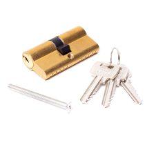 30/30mm hengerzárbetét 3 kulcsos réz