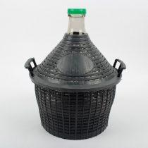 34L műanyag borítású üvegdemizson