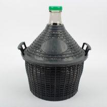 54L műanyag borítású üvegdemizson