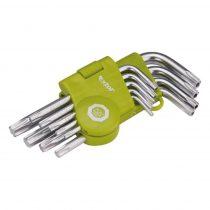 Torx kulcs készlet 9db-os