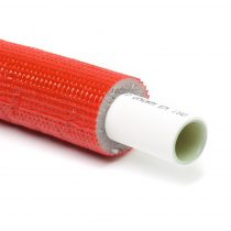 16*2-6mm ötrétegű cső szigetelt piros HENCO
