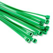 140*3,6mm kábelkötegelő zöld