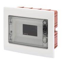 Falba süllyeszthető lakáselosztó tábla 8M IP40 átlátszó ajtóval GEWISS