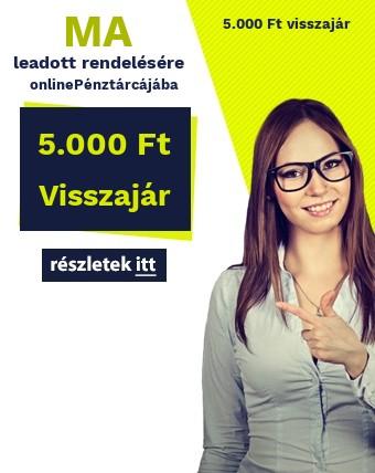 Online pénztárca 5000