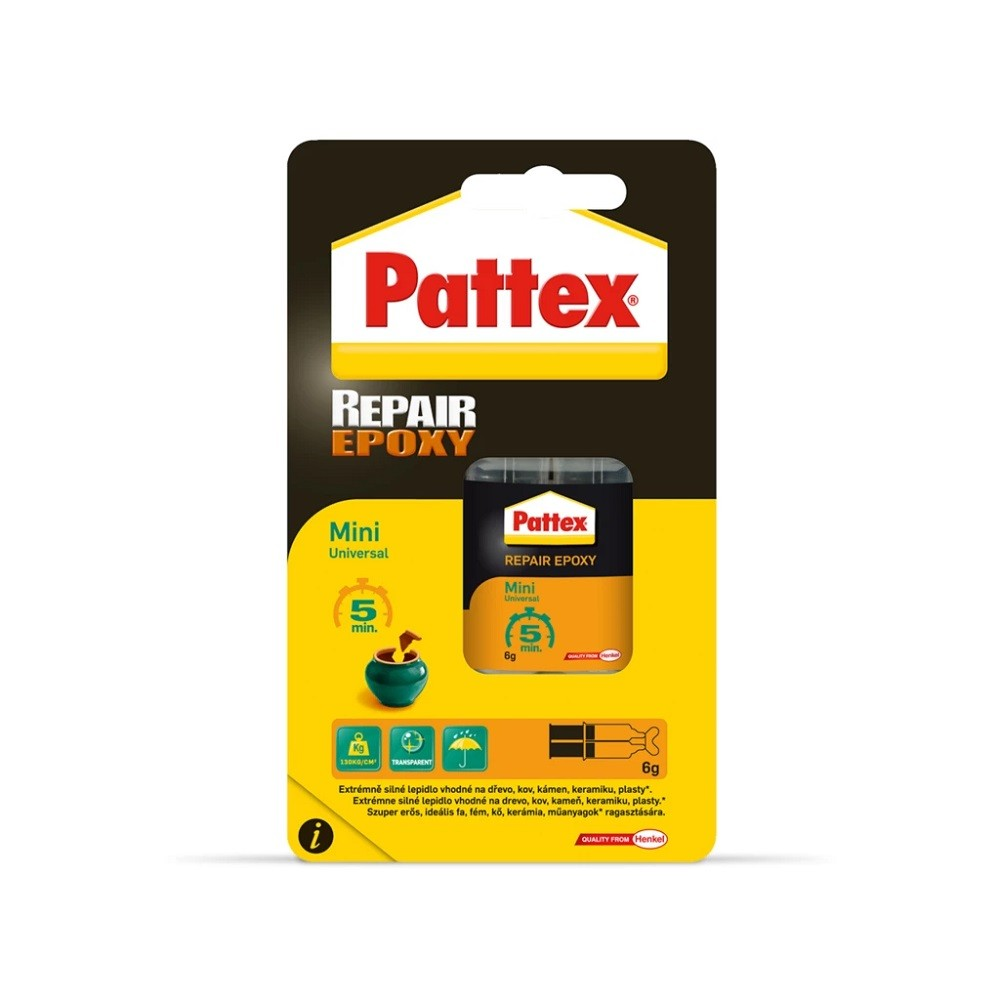 2*3ml Pattex repair univerzális kétkomponensű ragasztó