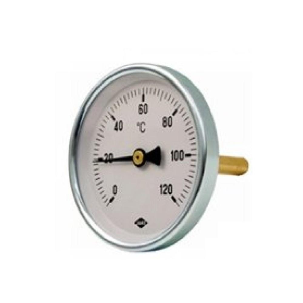 Precíziós hőmérő hátsó csatlakozással 63/50mm 120°C SIT