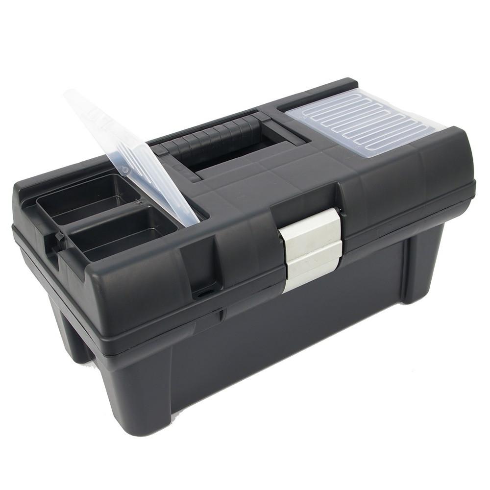 Szerszámosláda műanyag 415*225*200mm